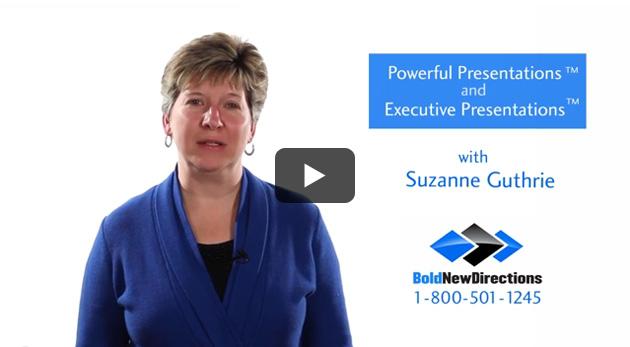 Presentation Training & Executive Presentation Training