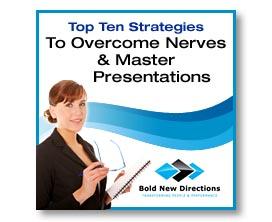 Overcome Nerves & Master Presentations
